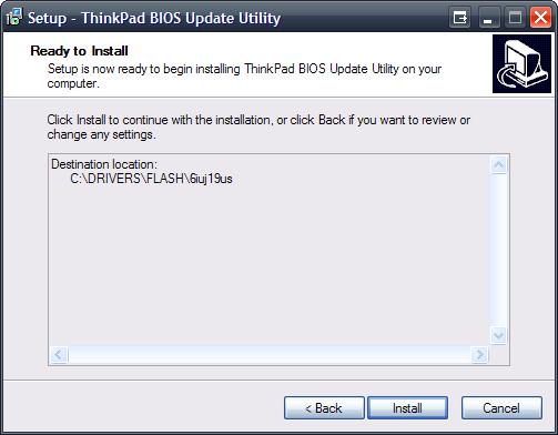 Aktualizacja BIOSu Lenovo ThinkPad - Digitmedia pl